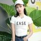 2018夏装新款短袖t恤女白色短款露脐上衣服紧身漏肚脐高腰体恤女